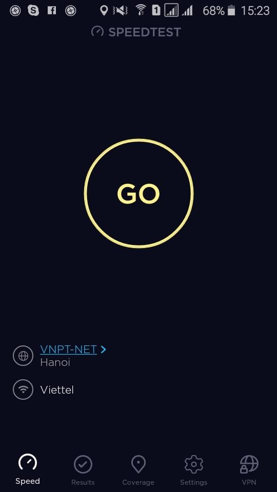 kiểm tra tốc độ mạng 3g