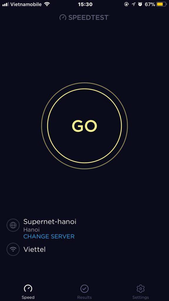 kiểm tra tốc độ mạng 4g