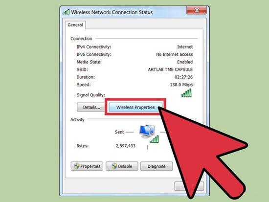 cách lấy lại mật khẩu wifi trên máy tính 2