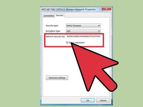 cách lấy lại mật khẩu wifi trên máy tính 3