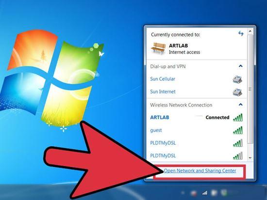 cách lấy lại mật khẩu wifi trên máy tính