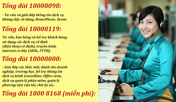 số điện thoại chăm sóc khách hàng của viettel