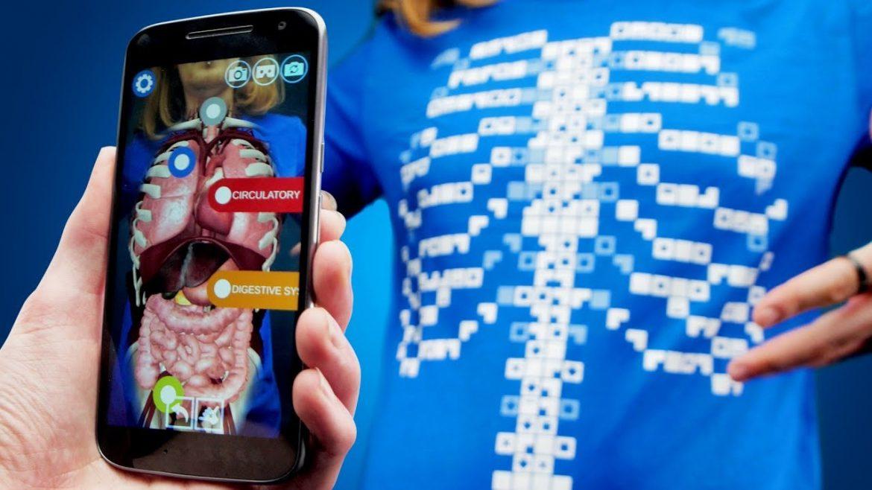 Virtuali-Tee ứng dụng chụp X quang trên điện thoại 3D