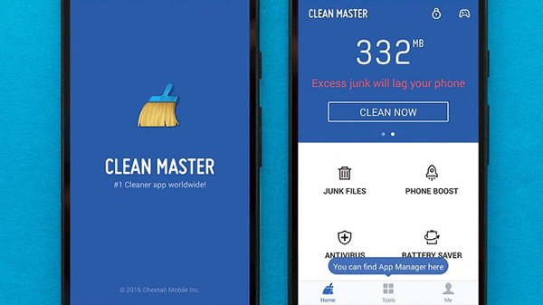 Ứng dụng dọn dẹp điện thoại Android